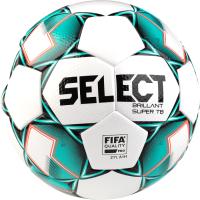 Футбольный мяч Select Brillant Replica / 811608-004 (размер 4, белый/зеленый/черный) -