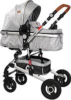 Детская универсальная коляска Lorelli Alba 2 в 1 Light Grey / 10021422061 -