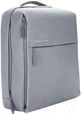 Рюкзак Xiaomi Mi City Backpack / ZJB4066GL (светло-серый)