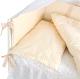 Комплект постельный в кроватку Martoo Comfy 4 (белый/бежевый) -