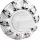 Фиксатор дверной защелки Arni WC E32 PC/White -