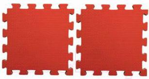 Гимнастический мат Kampfer №2 Будо-мат (красный)