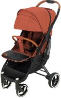 Детская прогулочная коляска Yoyaplus Pro Черная рама (Orange) -