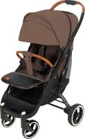 Детская прогулочная коляска Yoyaplus Pro Черная рама (Brown) -