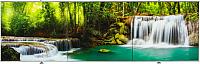 Экран для ванны Comfort Alumin Водопад 3D 150x50 -