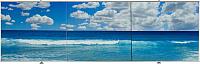 Экран для ванны Comfort Alumin Океан 3D 150x50 -