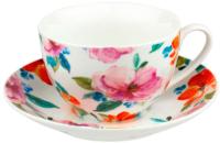 Чашка с блюдцем MASTER Ботаника / MB380 -