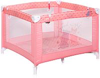 Игровой манеж Lorelli Play Pink Hippo (10080052028) -