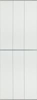 Экран-дверка Comfort Alumin Белый матовый 73x200 -