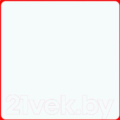 Экран-дверка Comfort Alumin Белый матовый 73x200