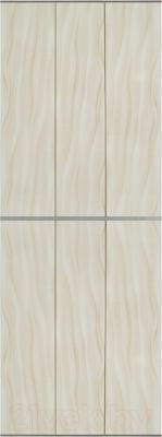 Экран-дверка Comfort Alumin Волна бежевая 73x200