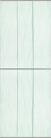 Экран-дверка Comfort Alumin Волна зеленая 73x200 -