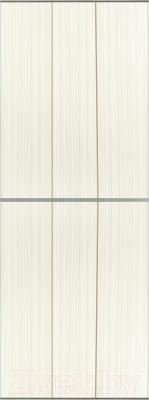 Экран-дверка Comfort Alumin Джинс темно-бежевый 73x200