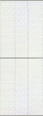 Экран-дверка Comfort Alumin Звездопад 73x200