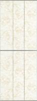 Экран-дверка Comfort Alumin Мрамор бежевый 73x200 -