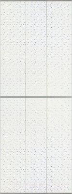 Экран-дверка Comfort Alumin Звездопад 83x200