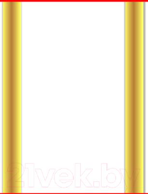 Экран-дверка Comfort Alumin Золотая (10) 83x200