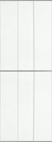 Экран-дверка Comfort Alumin Ромбики 83x200 -