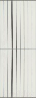 Экран-дверка Comfort Alumin Серебряная (10) 83x200
