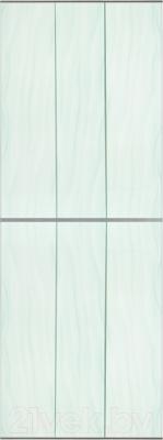 Экран-дверка Comfort Alumin Волна зеленая 83x200