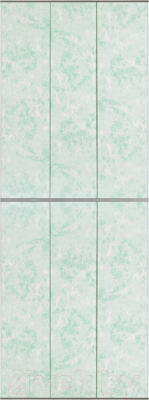Экран-дверка Comfort Alumin Мрамор зеленый 83x200