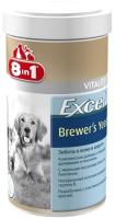 Кормовая добавка для животных 8in1 Excel Brewers Yeast / 108603/660432 (260таб) -