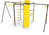 Игровой комплекс Rokids Атлет-К2 УДСК-7.3 (шоколад) -