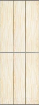 Экран-дверка Comfort Alumin Волна персиковая 83x200