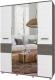 Шкаф Modern Виора В41 (анкор темный/анкор светлый) -