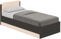 Односпальная кровать Modern Аманда А09 (венге/дуб млечный) -