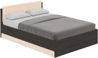 Полуторная кровать Modern Аманда А14 (венге/дуб млечный) -
