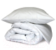 Комплект постельного белья Файбертек КПБ.15.СБ (белый сатин) -