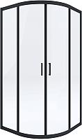 Душевой уголок Deante Funkia KYP N52K (черный) -