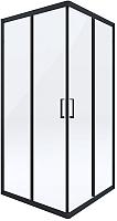 Душевой уголок Deante Funkia KYC N42K (черный) -