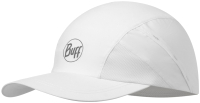 Бейсболка Buff Pro Run Cap R-Solid White (117226.000.10.00) -