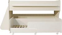 Двухъярусная кровать Можга Капризун 7 / Р444 (белый) -