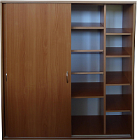 Шкаф для обуви Компас-мебель КС-012-01 (ольха) -