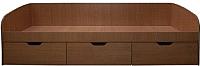 Кровать-тахта Компас-мебель КС-013-04Д1 80x200 (ольха) -