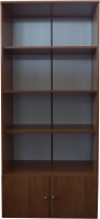 Стеллаж Компас-мебель КС-005-3Д1 (ольха) -