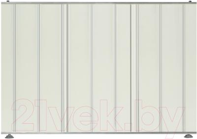 Экран для ванны Comfort Alumin Серебряный(10) (торцевой)