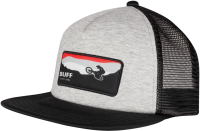 Бейсболка Buff Trucker Cap Kids Rift Black (122562.999.10.00) -
