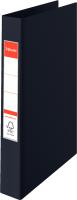 Папка-регистратор Esselte Vivida на 4 кольца / 14462 (черный) -