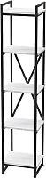 Стеллаж Millwood Neo Loft СН-2 Л (дуб белый Craft/металл черный) -