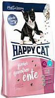 Корм для кошек Happy Cat Junior Grainfree Ente / 70366 (4кг) -