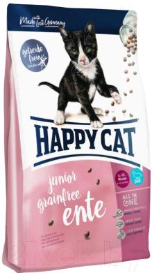 Корм для кошек Happy Cat Junior Grainfree Ente / 70368 (300г)