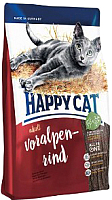 Корм для кошек Happy Cat Adult Voralpen-Rind / 70201 (4кг) -