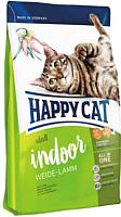 Корм для кошек Happy Cat Indoor Weide-Lamm / 70207 (4кг) -