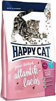 Корм для кошек Happy Cat Junior Sterilised Atlantik-Lachs / 70369 (10кг) -