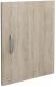 Дверца мебельная MFMaster ПОЛ-ДД / МСТ-ПОЛ-ДД-ДС-16 (дуб сонома) -