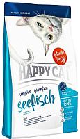 Корм для кошек Happy Cat Sensitive Grainfree Seefisch / 70262 (1.4кг) -